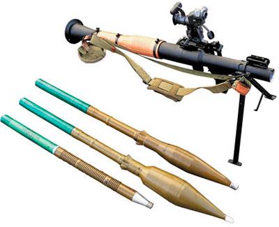 Ручной противотанковый гранатомет РПГ-7В2