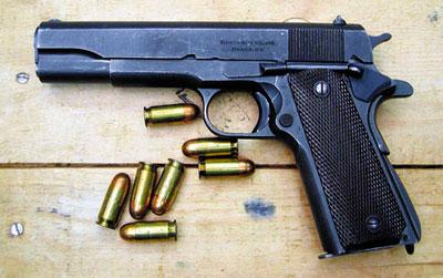 11,43-мм самозарядный пистолет «Кольт» М 1911 А1