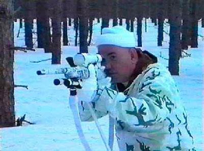 Обучение Полицейского Снайпера