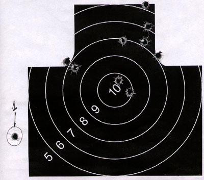 Отклонение первого выстрела полуавтоматических винтовок