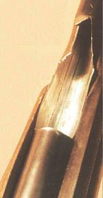 Разрыв левого ствола дробовика ИЖ-43 в результате выстрела стальным шариком