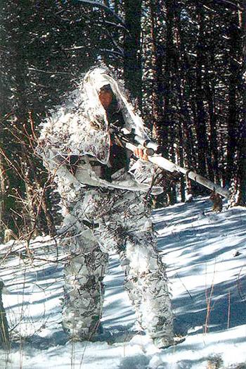 Снайперы зимой