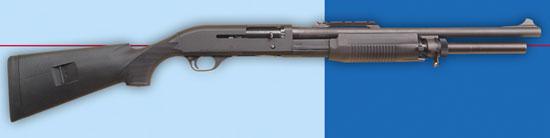 Benelli Super 90 M3 самозарядное помповое ружьё для динамичной стрельбы.