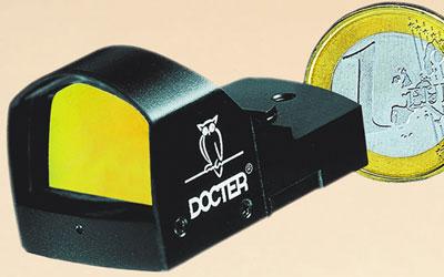 Прицел с красной точкой Docter Sight II – очень компактный оптический прицел.