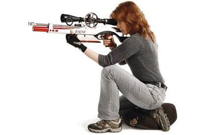 Положение с колена в Field Target считается принудительной позой, из которой поражается около 5% мишеней