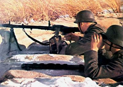 MG.34 РАБОЧАЯ «ЛОШАДКА» ВЕРМАХТА