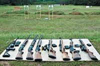 «Прибить» винтовку