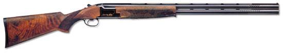 Ружьё для спортинга B125 Sporting F1 известной бельгийской фирмы Browning. Оснащено сменными чоками. В дульной части стволов просверлен ряд отверстий для уменьшения отдачи и подбрасывания стволов при выстреле. Это особенно важно, когда необходимо быстро произвести повторный выстрел по той же мишени