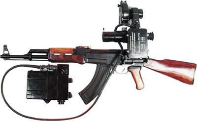 Автомат АК с ночным прицелом НСП-2