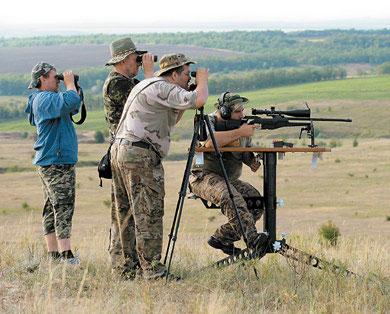 Высокоточная стрельба из охотничьего нарезного оружия