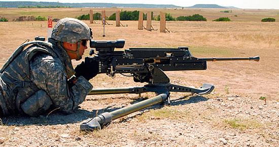 Новый 12,7-мм пулемет должен появиться в ВС США в 2012 г.