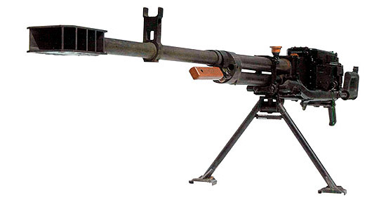 12,7-мм пулемет «Корд» пехотный на сошках