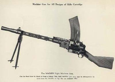Пулемет «Мадсен»