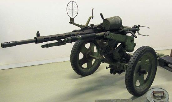 20-мм «противотанковый пулемёт» (автоматическая пушка) «Мадсен»