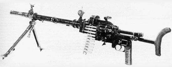 Ручной пулемет «Мадсен» модели 1942, переделанный в Германии