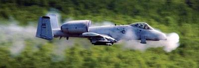 Летчик может менять темп стрельбы пушки GAU-8 в зависимости от задачи. В режиме «низкой» скорострельности это 2000 выстр/мин, при переключении на «высокий» режим – 4200. Оптимальные условия использования GAU-8 – это 10 двухсекундных очередей с минутными перерывами для охлаждения стволов