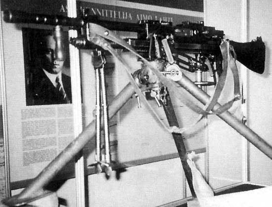 Единый пулемёт L-41 Sampo под патрон 7,62х53R конструкции Аймо Лахти