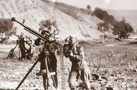 12,7-мм станковый пулемет образца 1938 г. ДШК» («Дегтярева-Шпагина крупнокалиберный»)