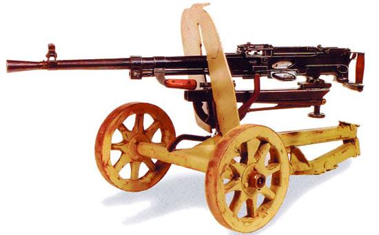 7,62-мм станковый пулемет образца 1943 года конструкции Горюнова (СГ-43)