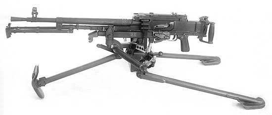 Один из конкурентов ПН - пулемёт Силина-Перерушина, отсеявшийся на одном из последних этапов испытаний