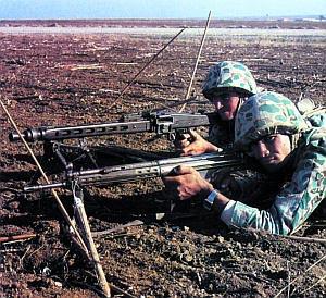 MG.3 у турецких пехотинцев