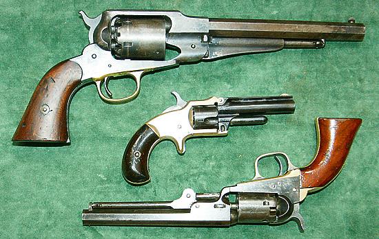 револьвер системы Смита-Вессона