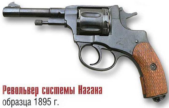 Револьвер системы Нагана образца 1895 г