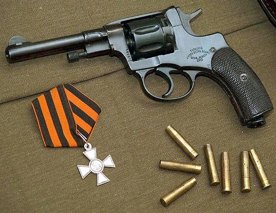 Наган М1895. Через полтора года исполнится 120 лет со дня принятия этого револьвера на вооружение