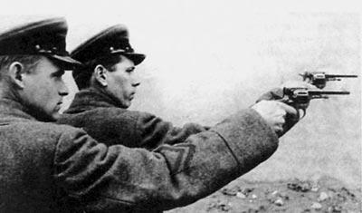 Стрельба из револьвера Наган