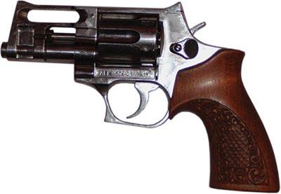 9х18 ПМ револьвер АЕК-906 «Носорог»