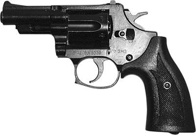 9х18 револьвер Стечкина - Авраамова (РСА) «Кобальт» (ТКБ-0216) ОЦ-01, изготовленный в ПО «Златоустовский машиностроительный завод»