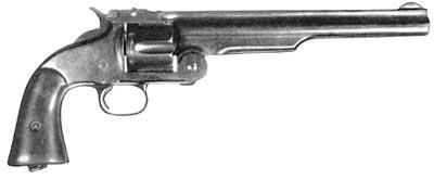 4,2-линейный (10,67-мм) револьвер Смит-Вессон 1-го образца