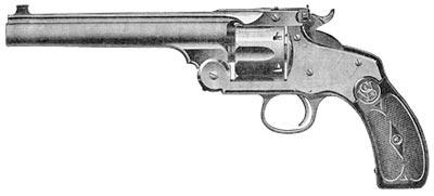 .44 учебно-тренировочный револьвер Смит-Вессон 3-го образца