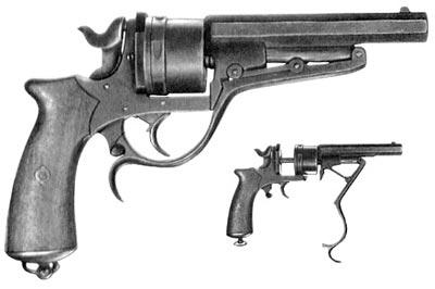 4,5-линейный (11,43-мм) револьвер Галан обр. 1870 года