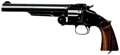 Американский револьвер «Смит энд Вессон», выполненный с учетом опыта «русского заказа»