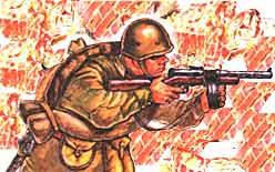 В каске обр. 40 года Красная Армия провоевала всю войну