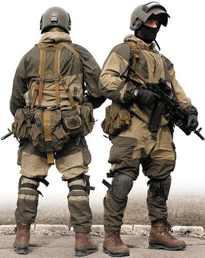 Экипировка сотрудника спецподразделения выполняющего армейские задачи (green role)