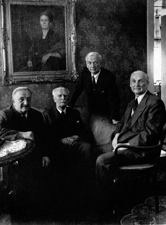 Даниэль Сваровски с сыновьями