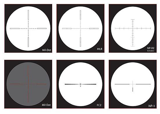 Оптические прицелы NightForce