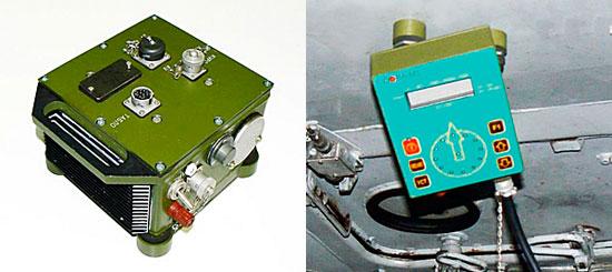 Рис. 6. Элементы системы «Сова-М»: а) вычислитель; б) табло.