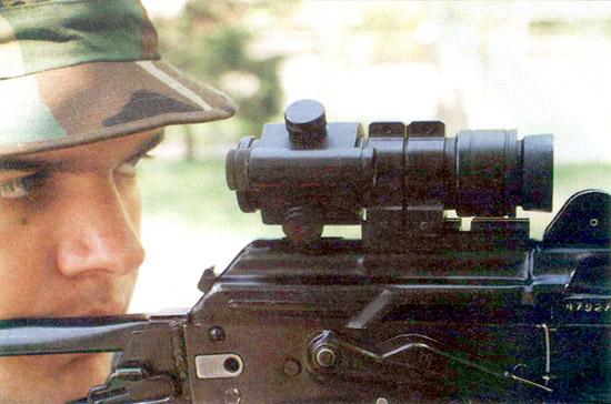 Коллиматорный прицел для стрелкового оружия ПК-01 с автоматической регулировкой яркости светящейся точки