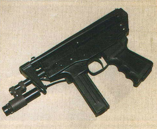 ЛЦУ «Пион-М» довольно просто устанавливается на пистолет-пулемет КЕДР