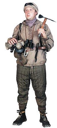 Советский горный стрелок-автоматчик (реконструкция)