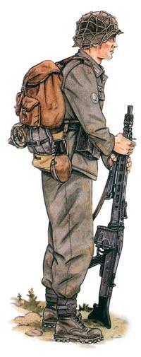 Германский горный егерь-пулеметчик