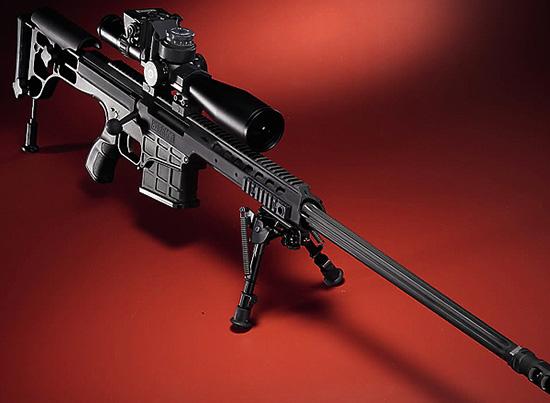 Винтовка Barrett98 Bravo обладает своеобразной красотой ихаризмой.