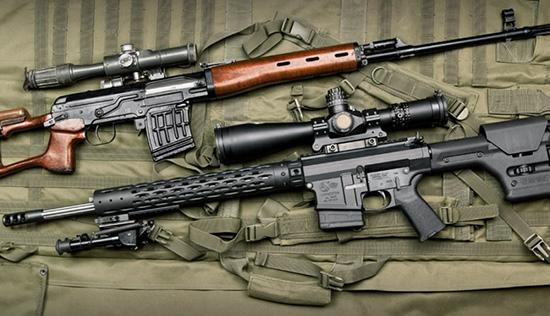 СВД и Colt Competition CRL-20EX
