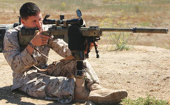Снайперские винтовки M40 морпехов США комплектуются ложами McMillan A1, A3 либо A5