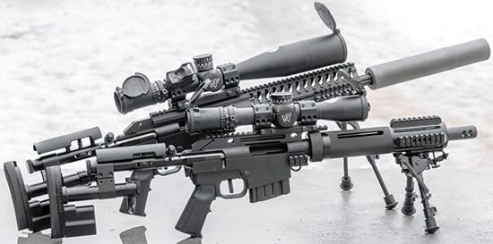 McMillan Alias STAR и Alias CS — винтовки во многом похожие, однако если  первую можно считать универсальной, то вторая— специализированное  оружие «городского снайпера»