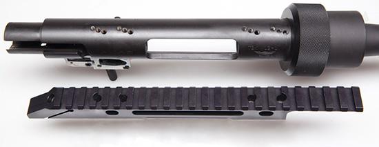 База для крепления оптики на винтовках Alias может быть установлена на  ресивер с завалом 0, 5 и 10 градусов относительно вертикали — для  удержания винтовки под небольшим углом