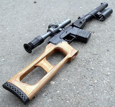 Бесшумная винтовка ВСС «Винторез» калибра 9 мм